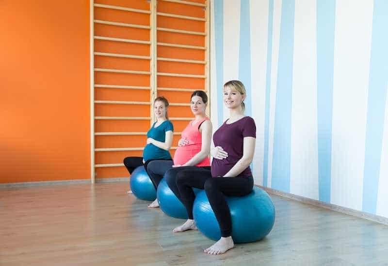 Набор в группы йога для беременных